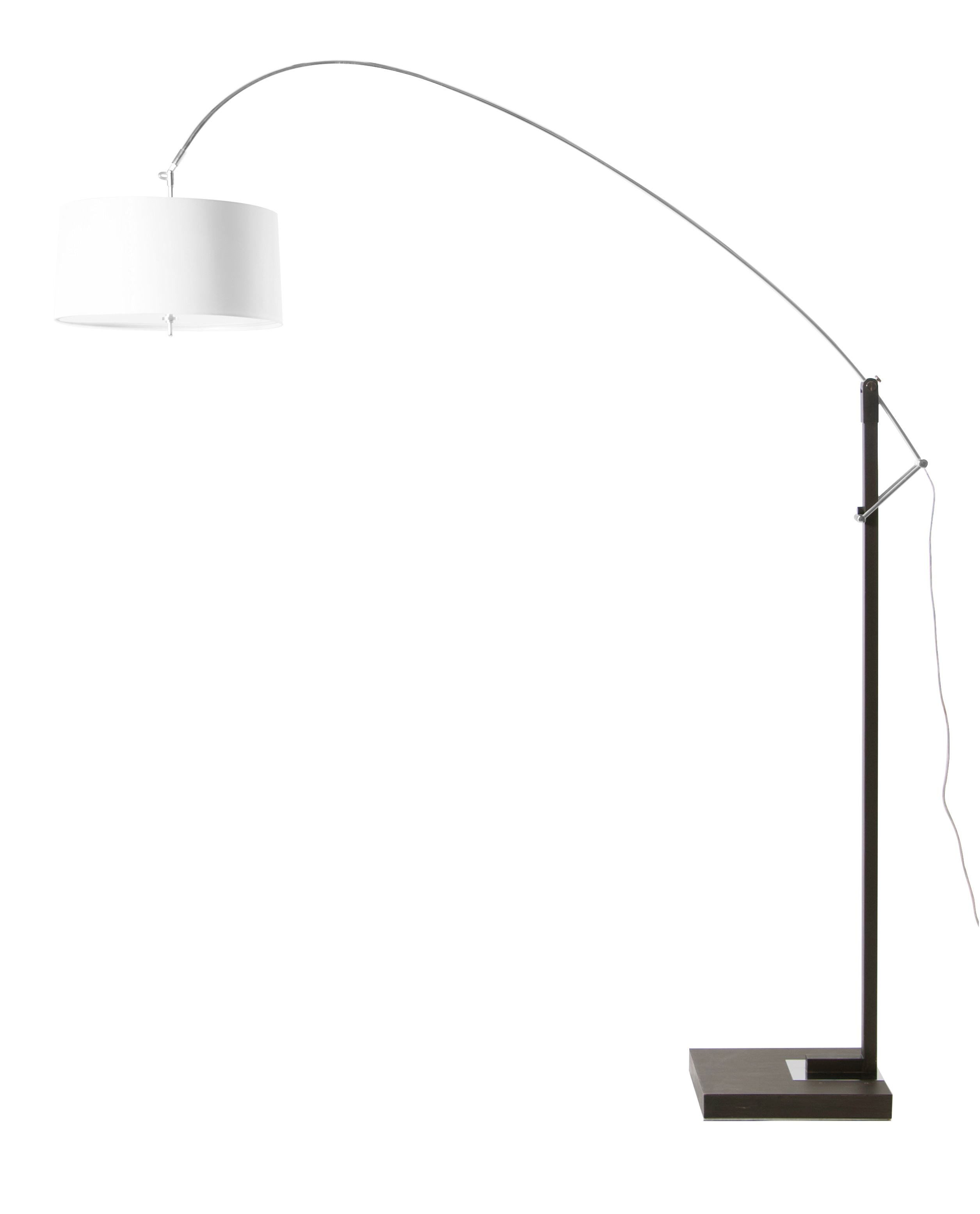 Extenso   Beautiful Adjustable Arc Floor Lamp With Dimmer