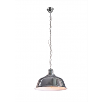 Yonkers – Chrome Pendant Lamp with Chain Cord
