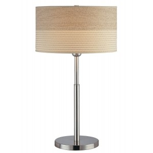 contemporary table lighting. Montreal - Luxury Table Lamp Contemporary Light With Fabric Shade Contemporary Lighting